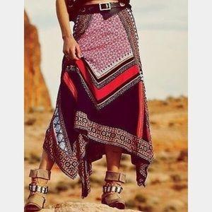 Free people Bedouin traveler skirt